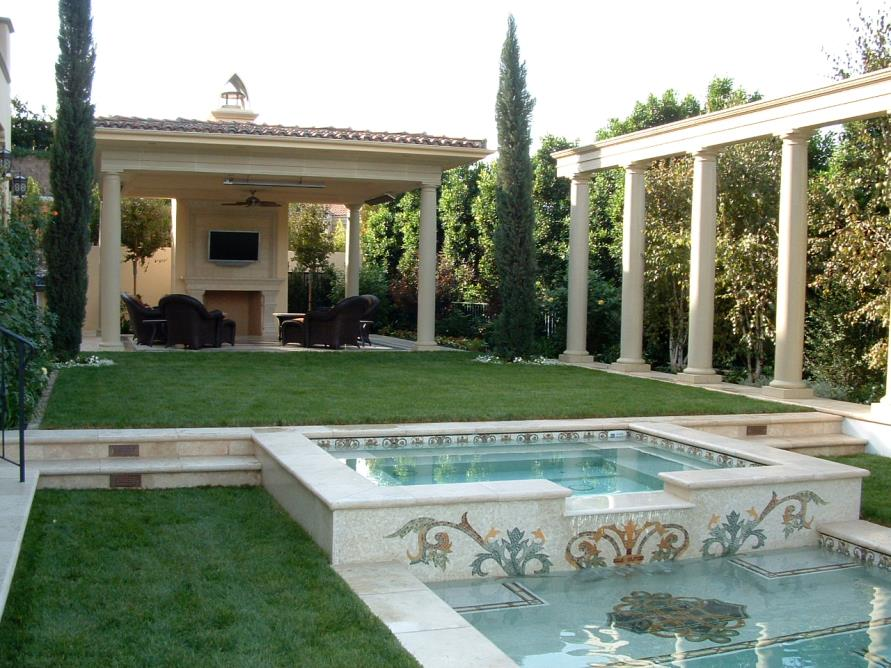 Ventura cast stone and precast concrete photo album 14 for Self sustaining pool